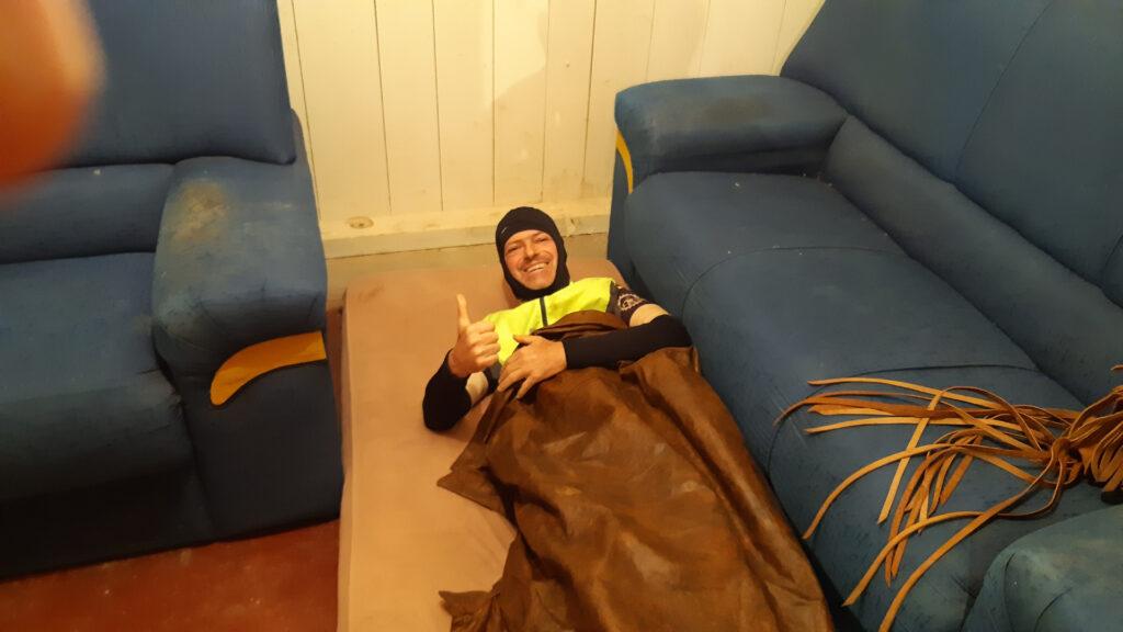Dormindo na serra da mantiqueira