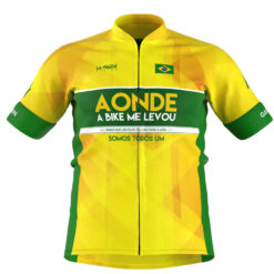 Camisa de Ciclismo Brasil