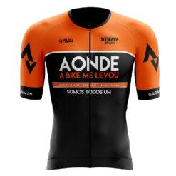 Camisa de Ciclismo Preta Pro Ride