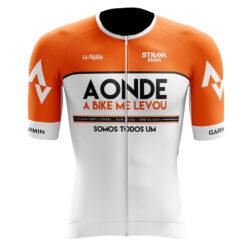 Camisa de Ciclismo Branca