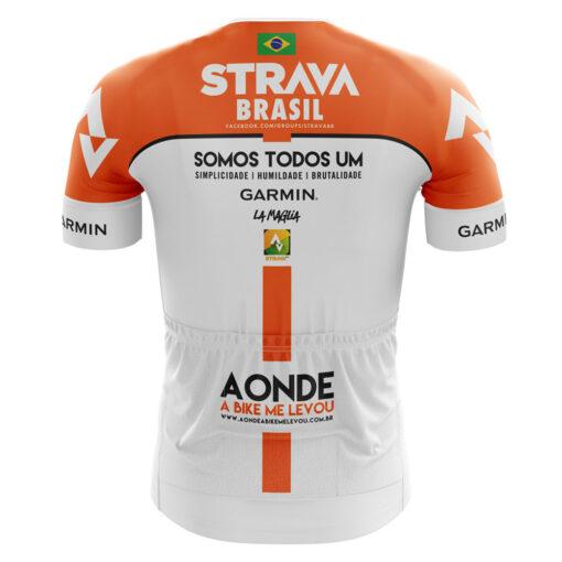 Camisa de Ciclismo Branca Costa