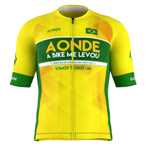 Camisa Brasil Aonde a Bike me Levou